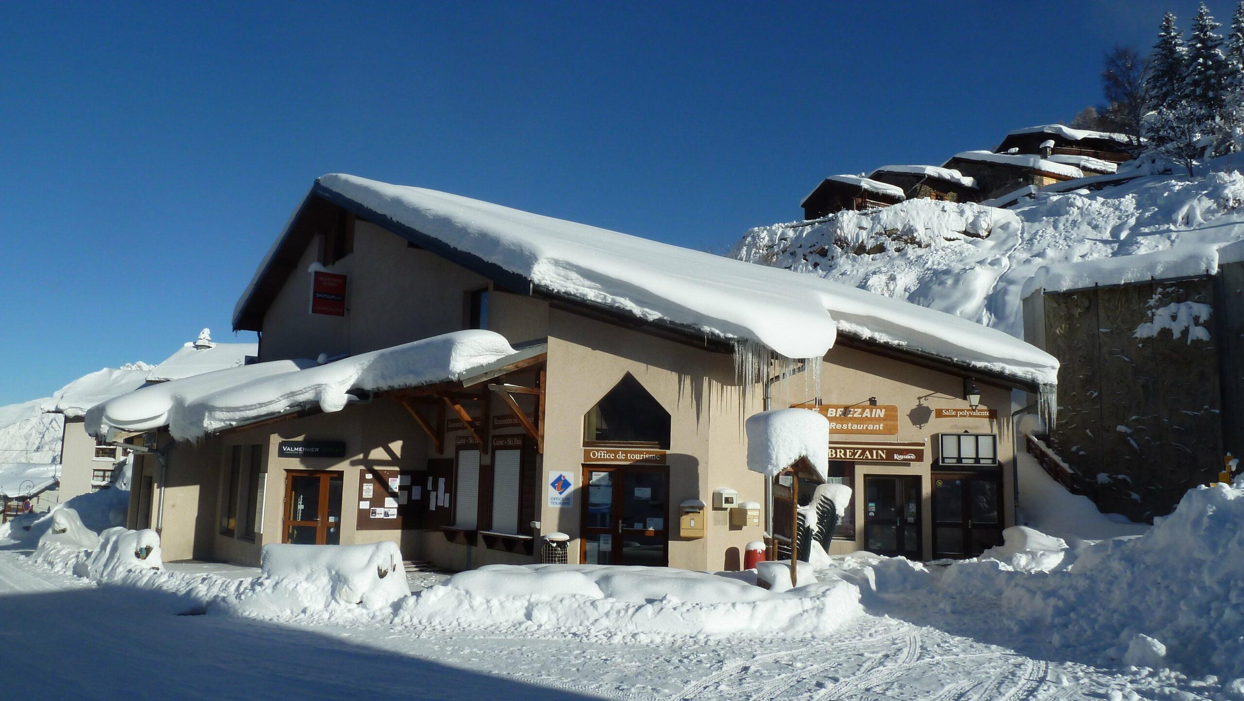 Office de tourisme, commerces à Valmeinier village